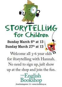 Storytelling for Children 2011 March, The Uppsala English Bookshop