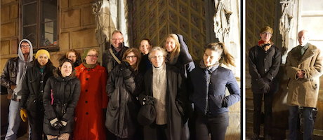 Staff photo 20150110, Historical pub walk in Stockholm Old town
