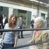 Carolyn Cassady visiting the new English Bookshop