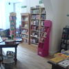 Interior of the new English Bookshop