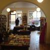 Interior of the bookshop