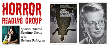 Horror reading group with Helena