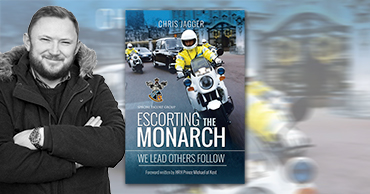 """Author visit """"Escorting the Monarch"""" - Chris Jagger"""