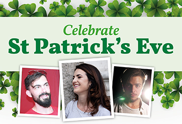 Celebrate St Patrick's Eve at the bookshop