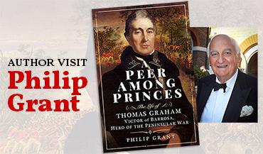 Author visit: Philip Grant – A Peer Among Princes