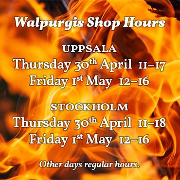 Walpurgis Shop Hours