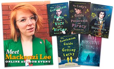 Online author event – Mackenzi Lee