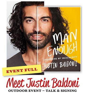 Meet Justin Baldoni  **EVENT FULL**