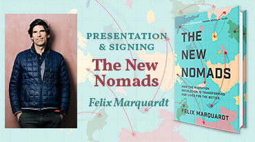 The New Nomads – author event with Felix Marquardt