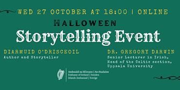 Halloween Storytelling Event – Embassy of Ireland