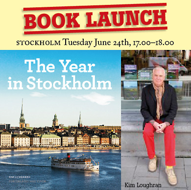 Book launch The Year in Stockholm